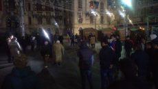Craiovenii au ieşit si aseară în stradă