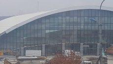 Sala Sporturilor din Târgu Jiu este aproape gata