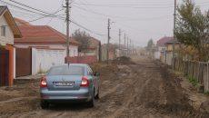 Strada Maria Rosetti, unde au început recent lucrările de asfaltare (Foto: Lucian Anghel)