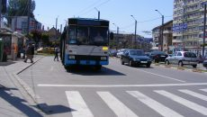 Mijloacele de transport în comun au ajuns să se defecteze şi în trafic