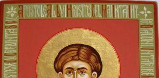Sfântul Ştefan, unul dintre ucenicii lui Iisus şi primul martir al Bisericii creștine