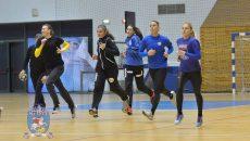 Handbalistele craiovene s-au pregătit intens pentru meciurile următoare (foto: SCM Craiova Handbal Oficial)