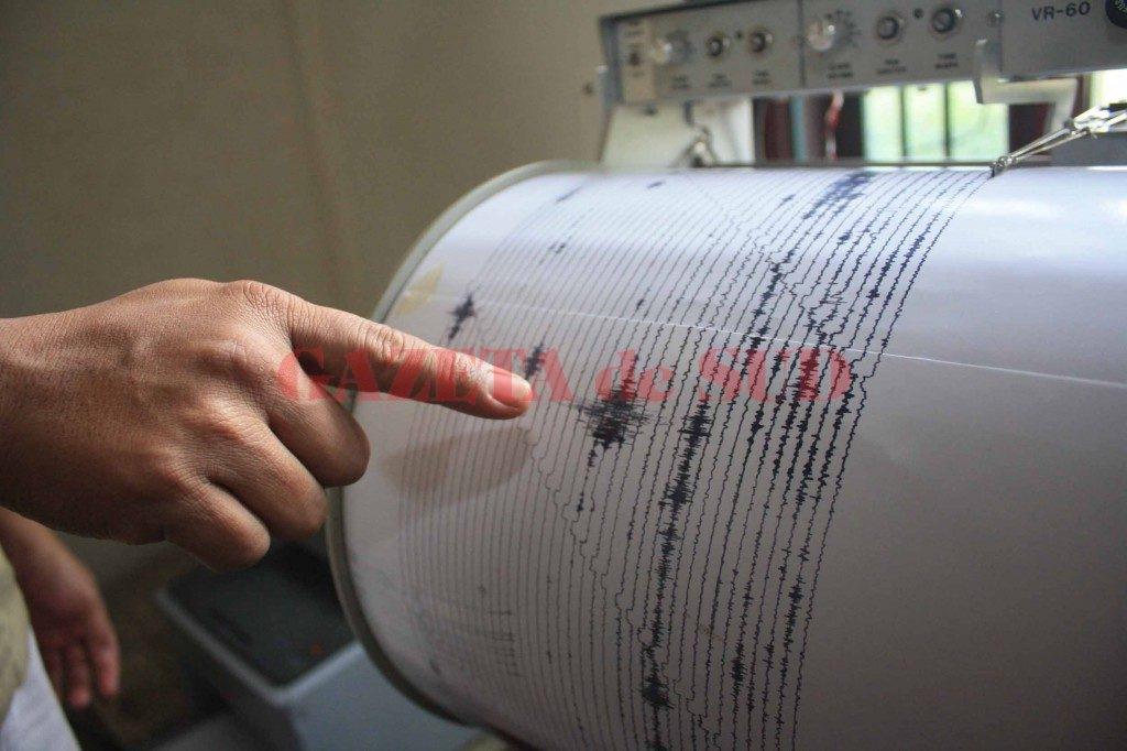 Cutremur azi noapte, în Vrancea