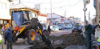Două avarii la rețeaua de apă din Târgu Jiu