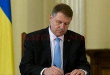 Iohannis a semnat decretele de numire a trei miniştri