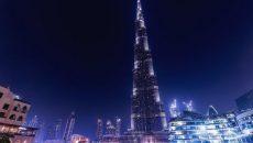 Joc de laser, in Dubai (Foto Jurnalul.ro)