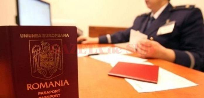 Serviciul paşapoarte