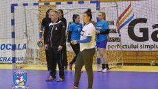 Elevele lui Bogdan Burcea sunt aproape de o calificare istorică în sferturile de finală ale Cupei EHF (foto: SCM Craiova Handbal Oficial)