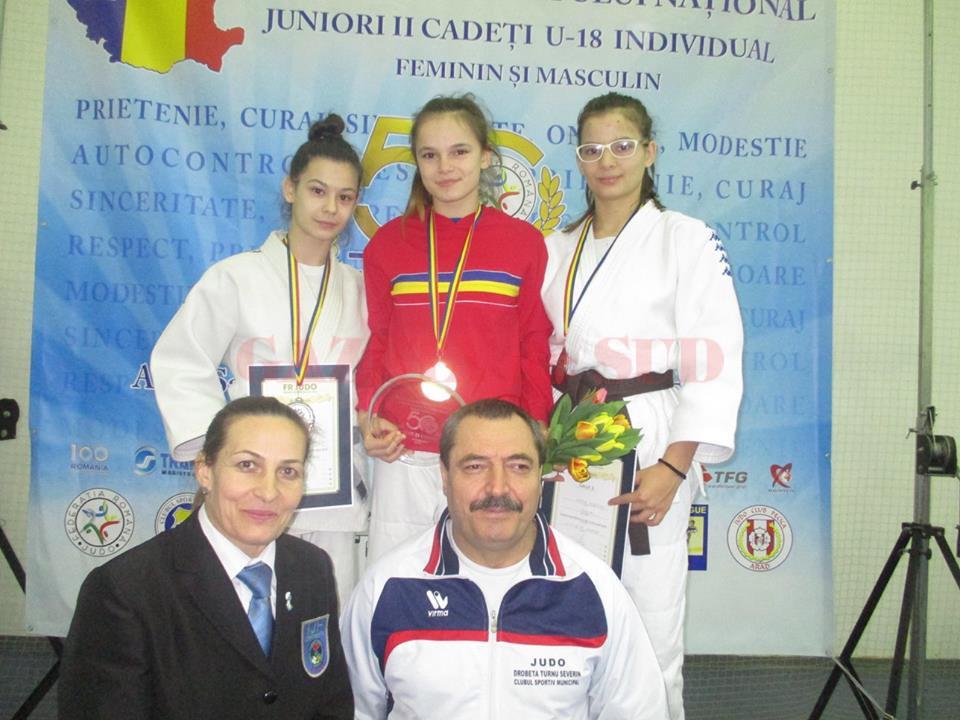 Iasmina Covaciu a obținut titlul național