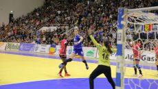 Cristina Zamfir Florianu a marcat un singur gol în poarta campioanei mondiale Darleux (foto: Claudiu Tudor)