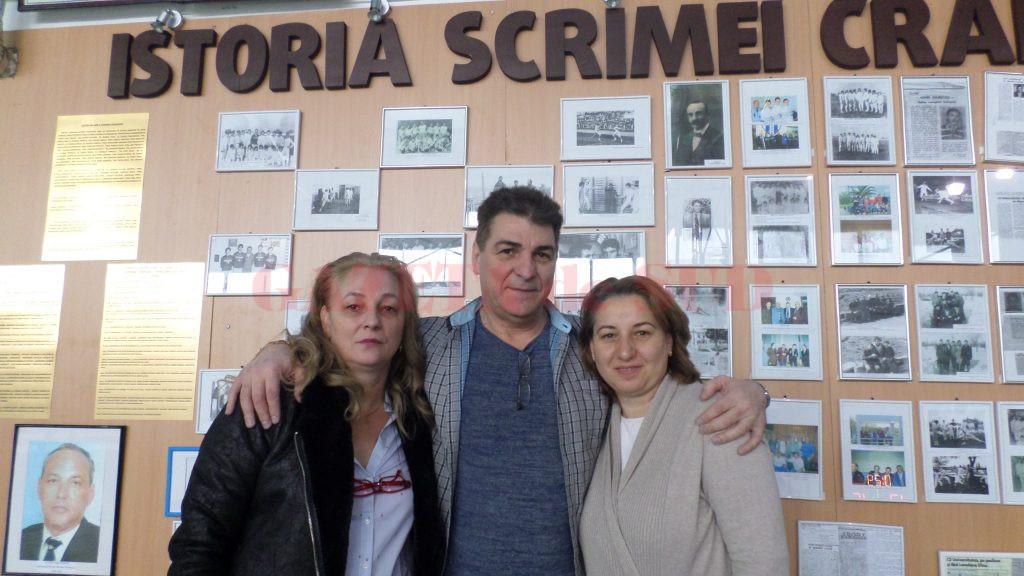 """Daniel Hondor, în vizită la sala de scrimă de la LPS """"Petrache Trișcu"""" (foto: Daniela Mitroi-Ochea)"""