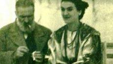 Constantin Brancusi si Maria Tanase. Foto: Gandul.info