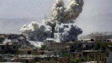 Bombardamente in Siria. Foto: Realitatea.net