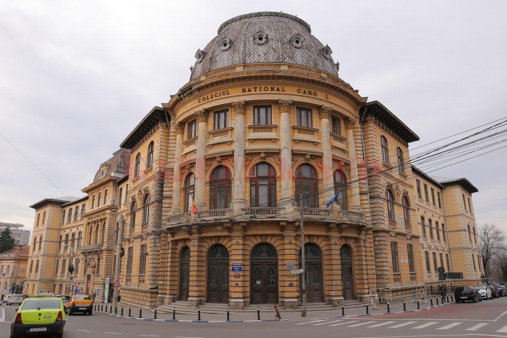 """Lucrările de reabilitare şi consolidare a Colegiului Național """"Carol I"""" din Craiova vor începe în acest an. Ele vor fi executate de firma Construcții Erbașu SA, din Bucureşti."""
