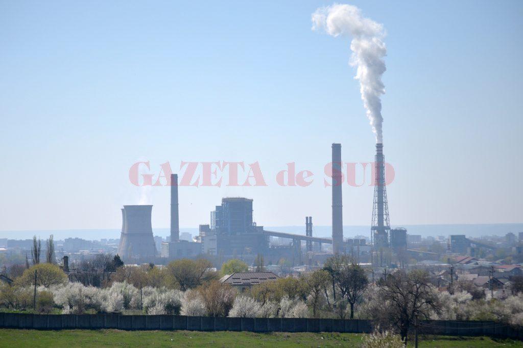 Aer poluat în Craiova