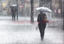 Administrația Națională de Meteorologie(ANM) a emis, astăzi, o atenţionare cod galben de ploi torenţiale.