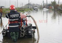 Inundaţiile au afectat câteva comune gorjene