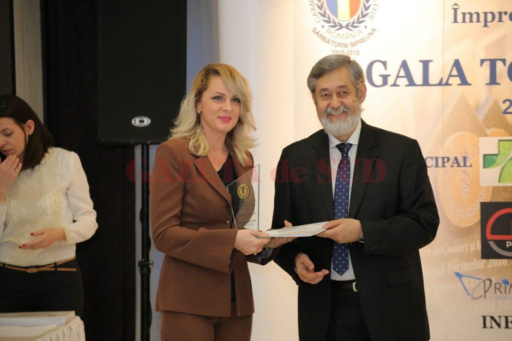 Reprezentanta Microcomputer Service a primit Trofeul pentru 20 de ani consecutivi de prezenta in Topul Firmelo