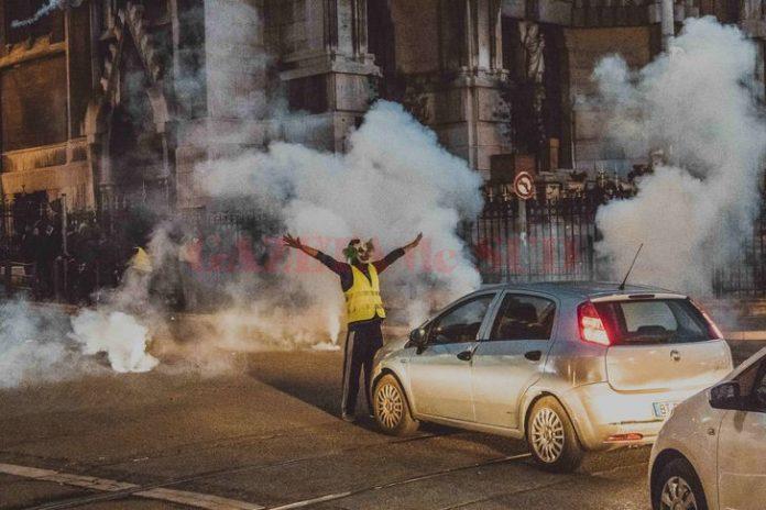 Noi proteste in Franta (Foto Mediafax)