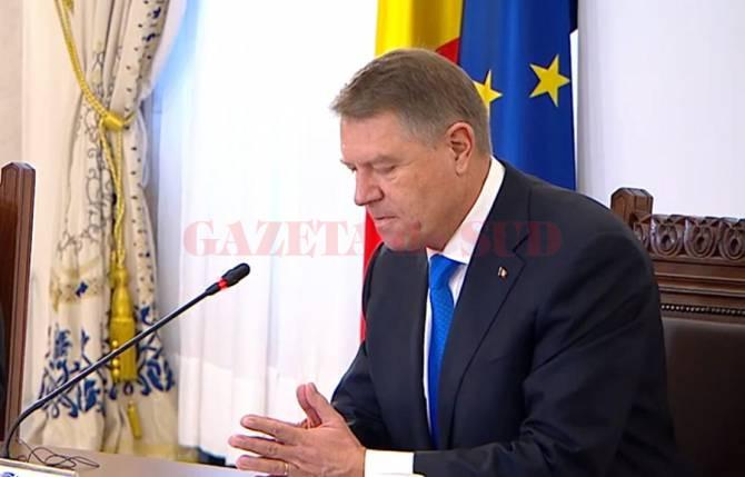 Klaus Iohannis va participa, joi şi vineri, la Consiliul European