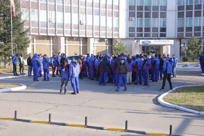 Angajaţii de la Ford au mai protestat şi cu alte ocazii (Foto: arhiva GdS)