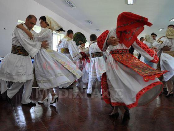 Dans in Bistrita (Foto Mediafax)