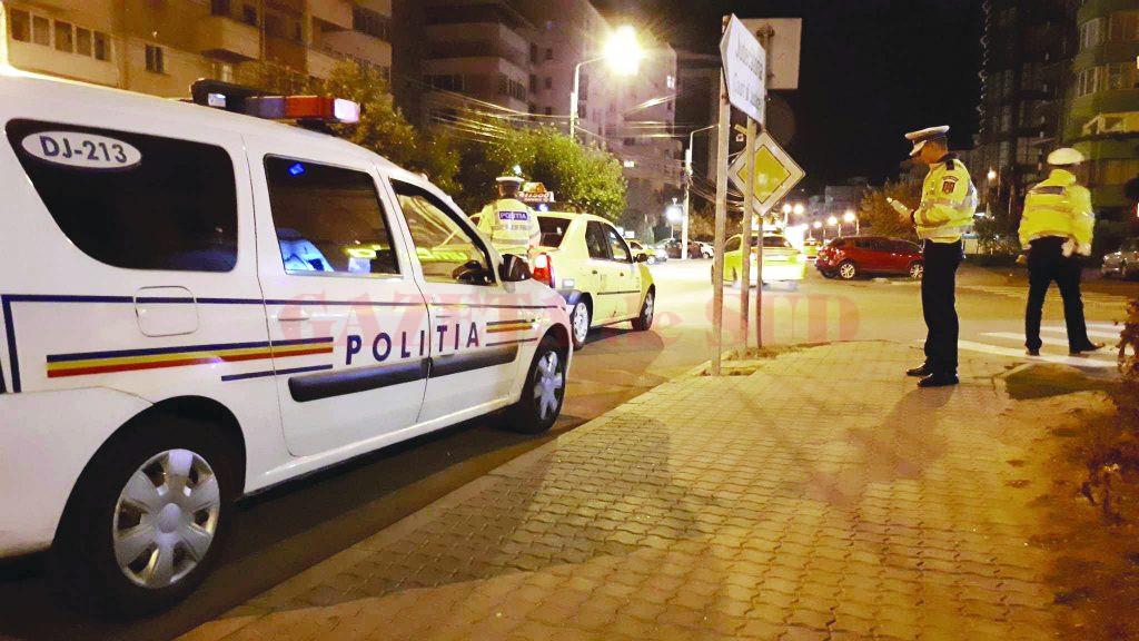 Polițiștii doljeni au avut mult de furcă weekend-ul trecut. Au depistat în trafic șoferi care au consumat alcool sau care nu aveau permis.