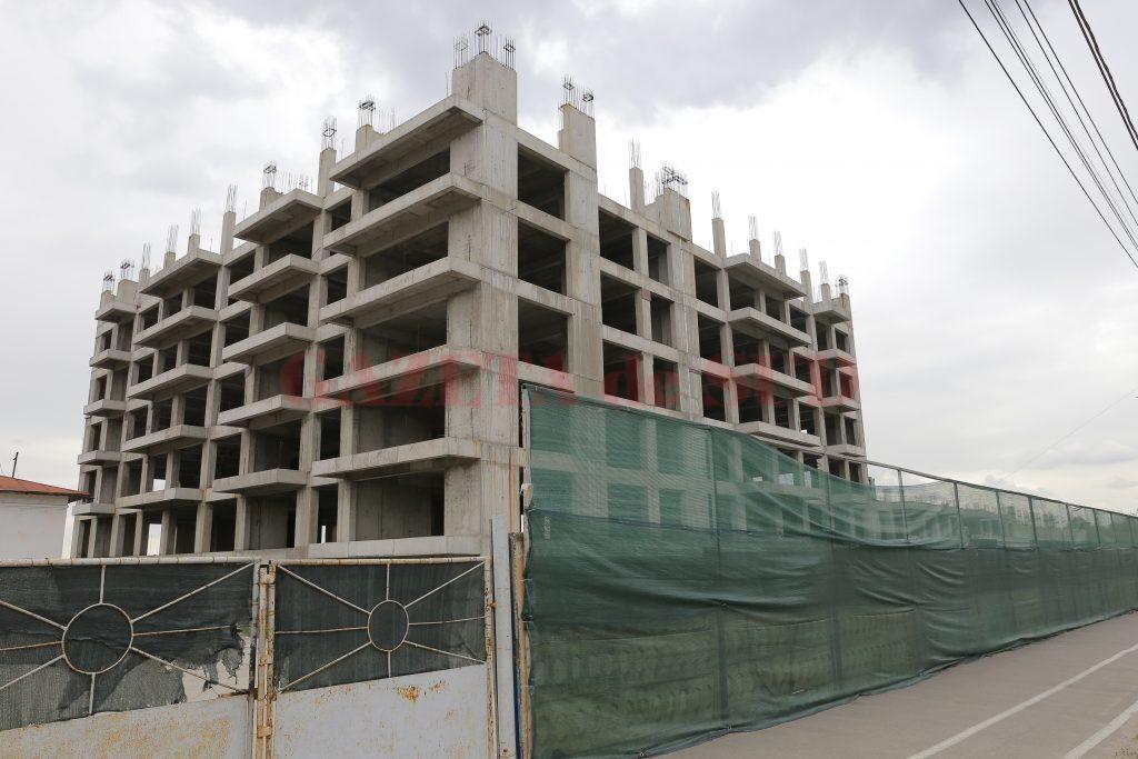La proiectul de realizare a primului bloc din cartierul chinezesc de pe strada Caracal nu s-a mai mișcat nimic din octombrie 2019