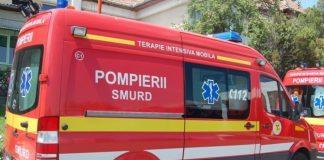 FGrav accident pe DN13. Cinci persoane, rănite