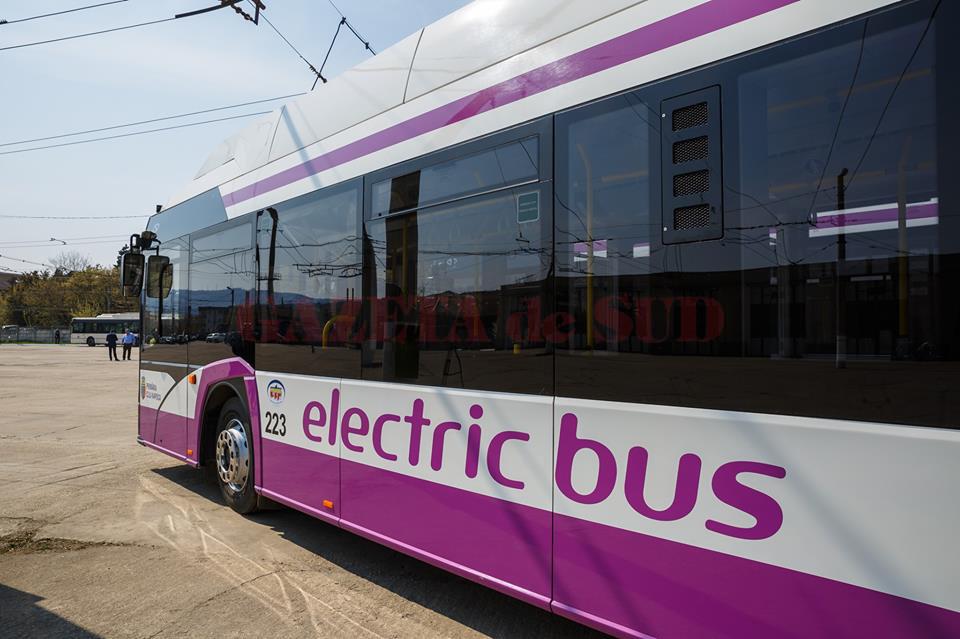 Autobuz electric produs de Solaris