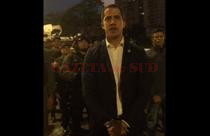 Juan Guaido, captura video Hotnews