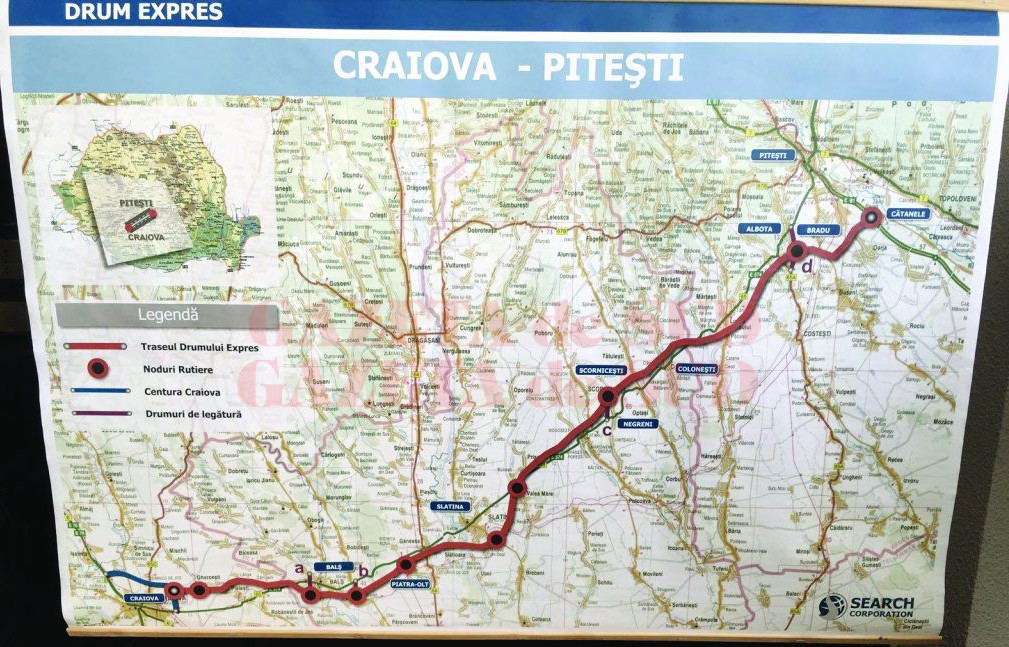 A fost desemnat câștigătorul pentru proiectarea și execuția Tronsonului 3 al Autostrăzii Craiova – Pitești (31,75 km), potrivit CNAIR