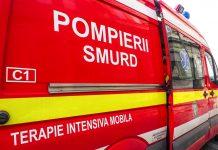 Grav accident pe DN13. Cinci persoane, rănite