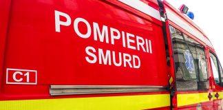 Copil căzut de la etajul 2 al blocului în care locuiește, în Motru