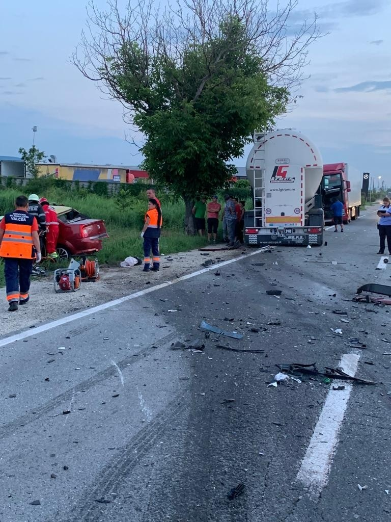 Vâlcea: Accident mortal pe DN 67