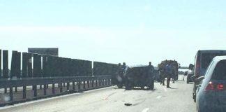 Carambol pe Autostrada Soarelui. Cinci maşini sunt implicate