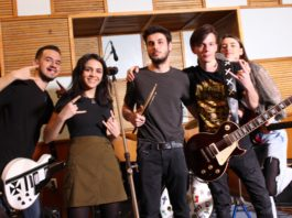Ritmuri rock pe voci liceene şi studenţeşti în trupa Overbeat din Craiova