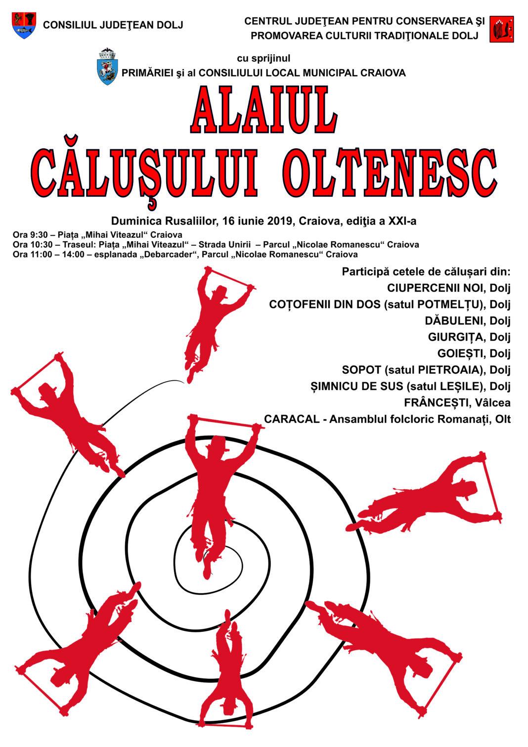 Alaiul Căluşului Oltenesc - ediţia a XXI - a.