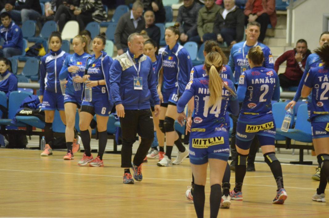 Bogdan Burcea își va conduce handbalistele într-o nouă aventură în Cupa EHF (Foto: Alex Vîrtosu)