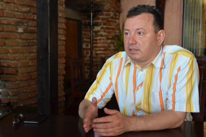 Eleodor Cârstoiu, președintele sindicatului Promedica (Foto: Lucian Anghel)