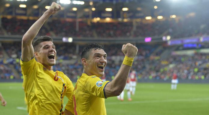 Ianis Hagi și Claudiu Keșeru au fost jucătorii care au contat în atacul României (Foto: frf.ro)