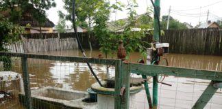 Inundaţii au produs pabuge de 14,3 milioane de lei în Olt
