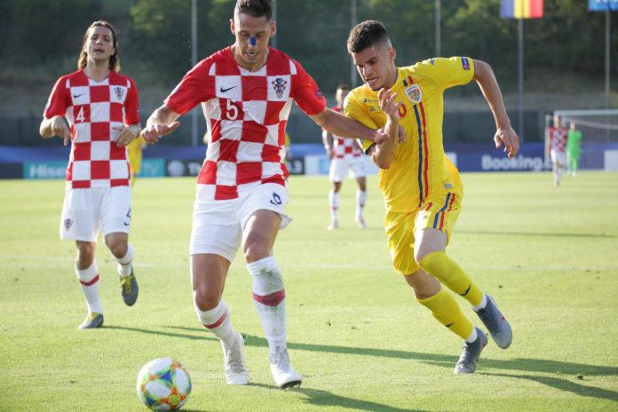 Ianis Hagi a fost unul dintre marcatorii României U21 în meciul cu Croația U21 (Foto: frf.ro)