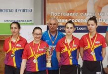 Luiza Popescu (în stânga) a făcut un turneu bun la Skopje