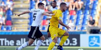 George Pușcas a semănat panică în defensiva Germaniei (Foto: uefa,com)