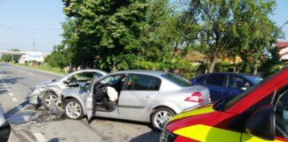 O tânără rănită într-un accident rutier