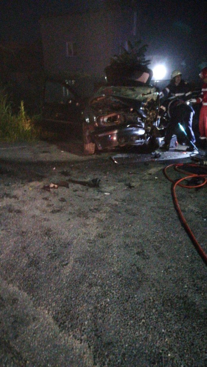 Grav accident pe DN7: Un șofer mort și unul rănit