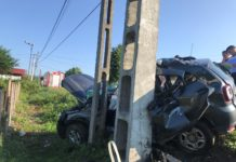 Bărbat rănit grav într-un accident la Bunești