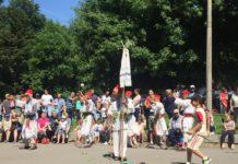 Alai oltenesc pe ritm călușăresc, în Craiova