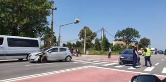Femeie rănită în accident, la Răcari